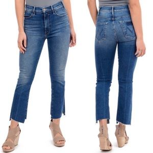 MOTHER | The Hustler Two Step Ankle Fray Jeans